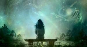 dreams, girl on a bench